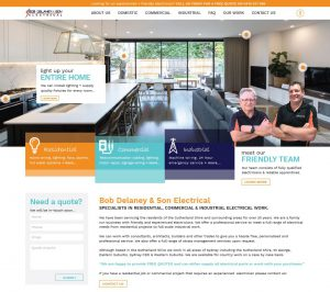 Tradie website design