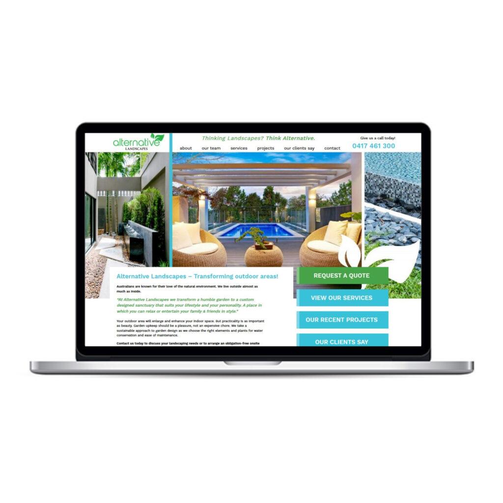 Alternative Landscape website