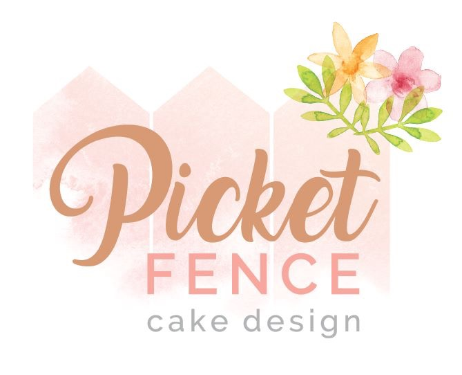 Picket Fence Cake Design branding