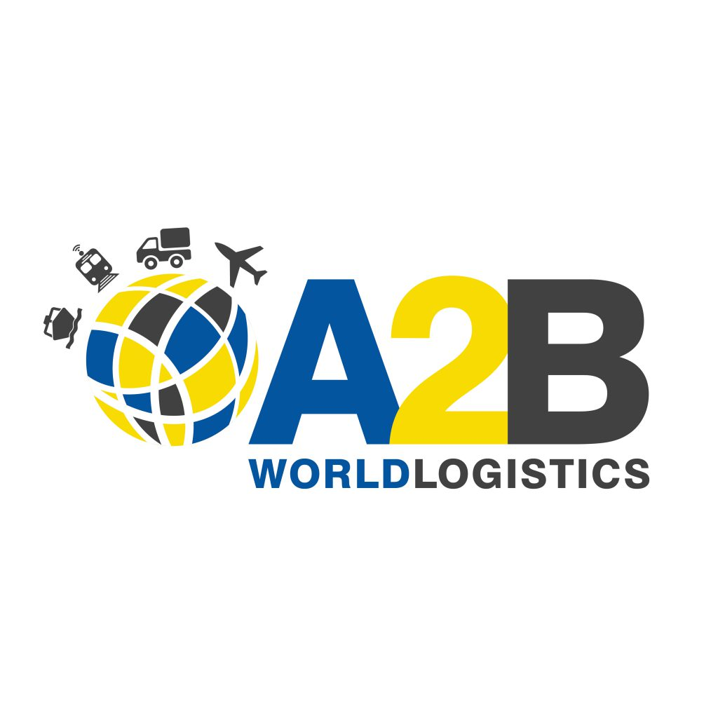 A2B World Logistics branding