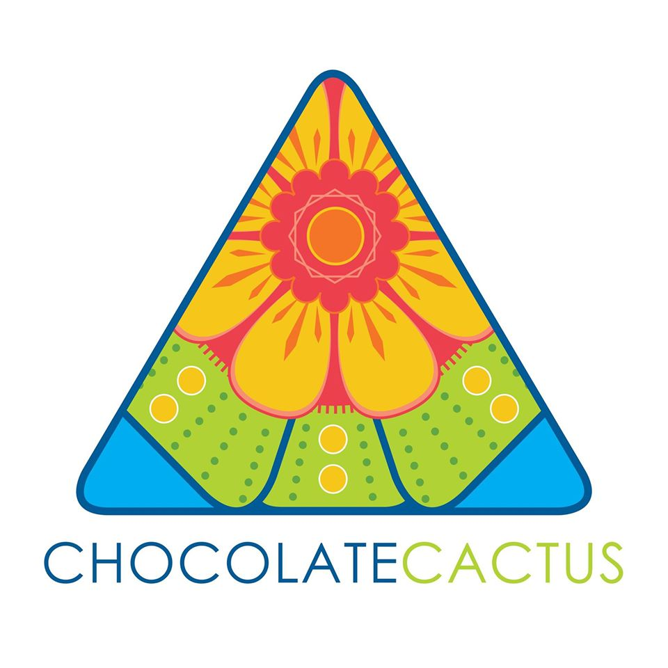 Chololate Cactus logo design