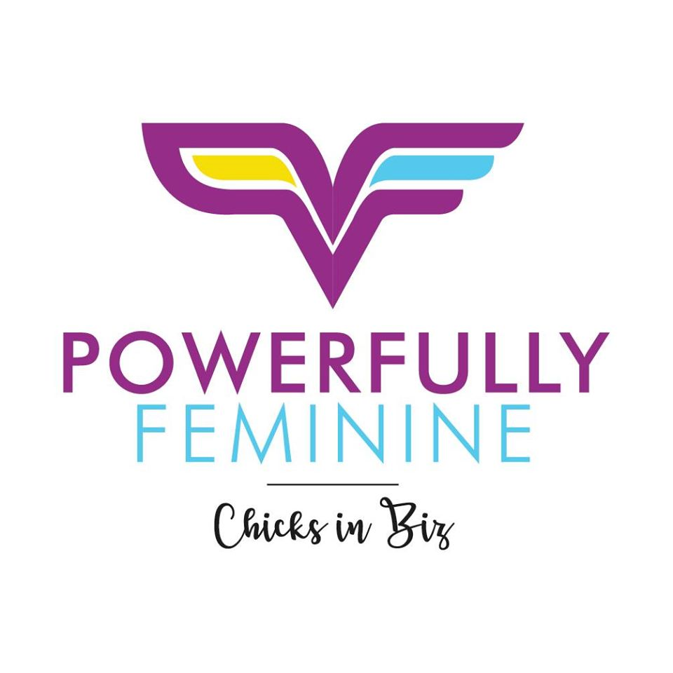 Powerfully Feminine Chicks in Biz logo