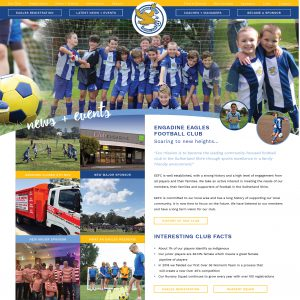 Engadine Eagles Soccer