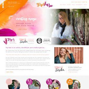 Pip Rae Website + Shop