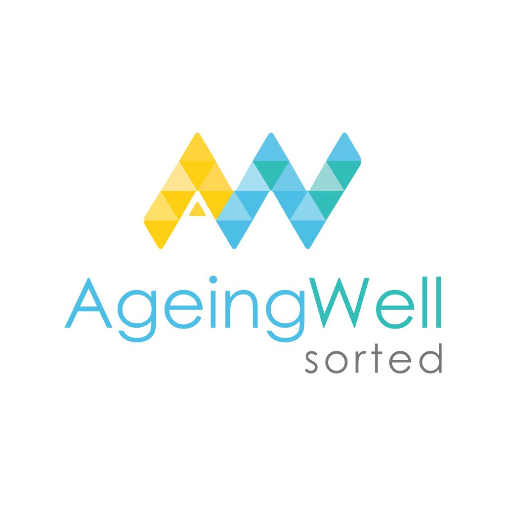 Stunning new branding for Ageing Well Sorted