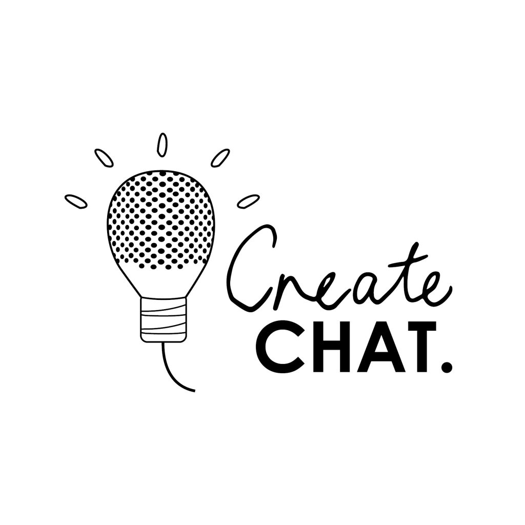 Create Chat Podcast Logo
