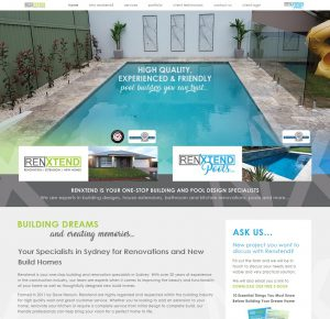 Renxtend custom website