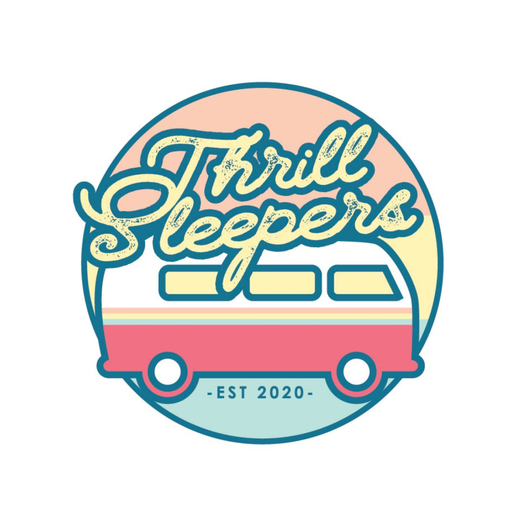 Thrill Sleepers Branding