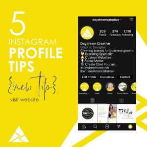 5 Tips to improve your instagram profile