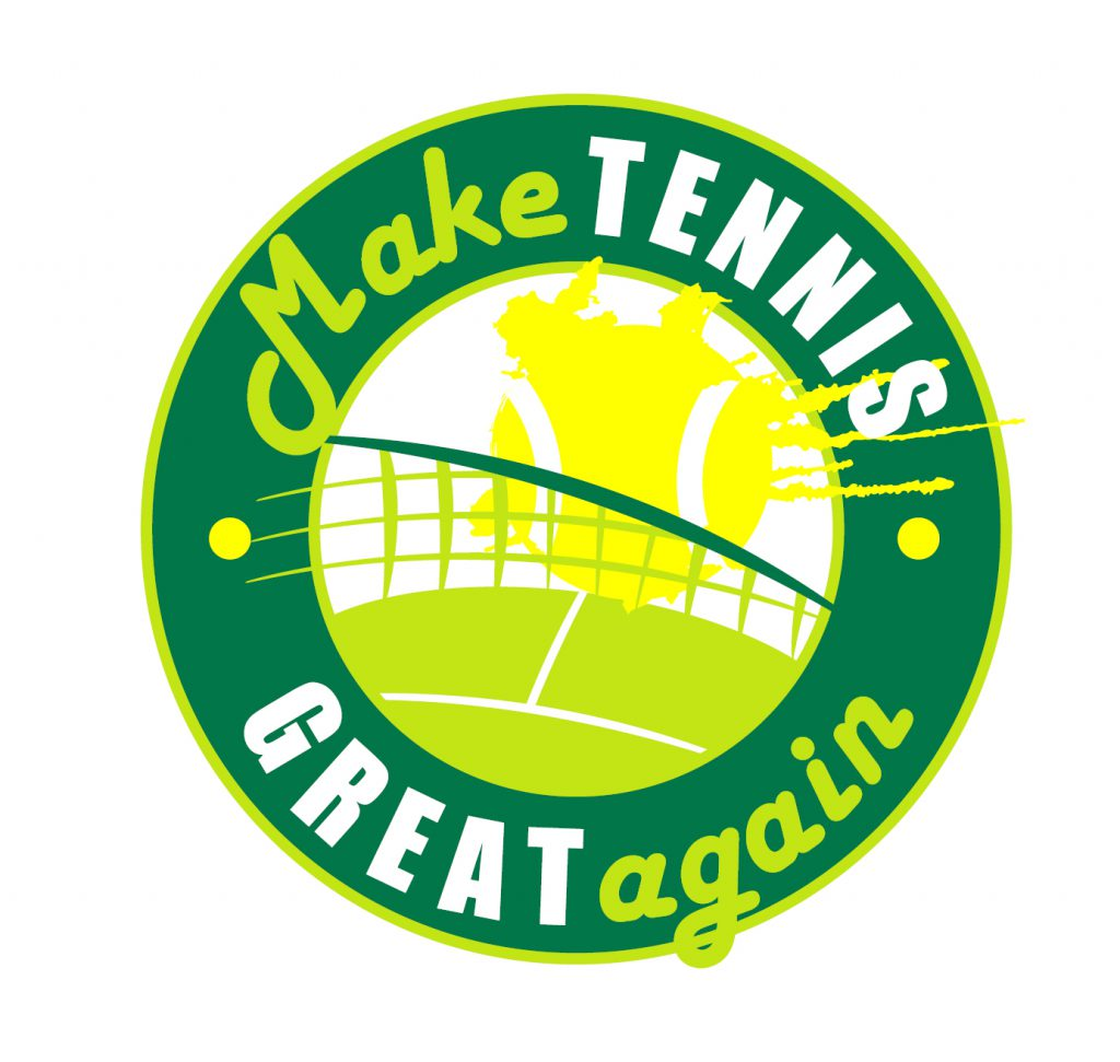 Make Tennis Great Again logo